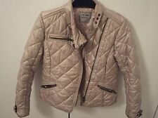 Next Girls Quilted Biker Style Jacket Age 9-10 Years