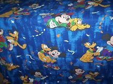 Bettwäsche Disney Mickey + Pluto Kinderbettwäsche