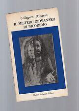 il mistero giovaneo di nicodemo - calogero bonavia - may vesttsre