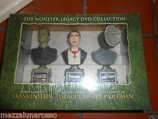 THE MONSTER LEGACY DVD COLLECTION + 3 STATUE