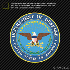 United States Department of Defense Seal Sticker Decal Self Adhesive Vinyl dod