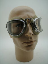 GERMAN AUTO UNION MERCEDES VINTAGE MOTOR CAR RACING RIDER GOGGLES AVIATION OLD
