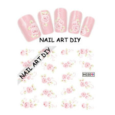 20 Nail Art Stickers water transfer-Tattoo Adesivi con Fiori -Buy 3 Get 4 !!!