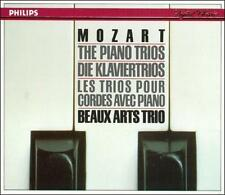 WOLFGANG MOZART THE PIANO TRIOS BEAUX ARTS TRIO PHILIPS HUGE 3 CD SET, SHIPS WW