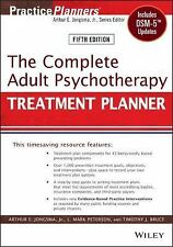 The Complete Adult Psychotherapy Treatment Planner, 5th Edition w/DSM-5 Updates