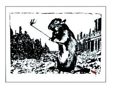 Blek le rat After the apocalypse  Banksy koons warhol kaws invader brainwash