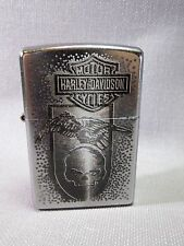 "Zippo ""HARLEY DAVIDSON"" - Eagle with skull-Neuf & Emballage D'origine - #760"