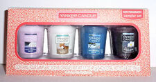 Yankee Candle SPRING FRAGRANCE SAMPLER VOTIVE Set of 4 New for 2017  ~NEW~