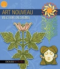 Art Nouveau Vector Designs (Dover Pictura Electronic Clip Art)