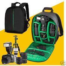 Waterproof Camera Backpack Shoulder Bag DSLR Case Carabiner For Canon For Nikon
