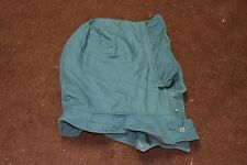 Used Canadian army hood for blue winter parka  ( store #h5 bte#151 )