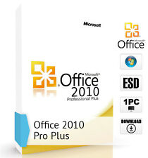 Microsoft Office 2010 professional plus pour 1 pc