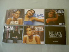 NELLY FURTADO job lot of 6 CD/promo CD singles Promiscuous Do It I'm Like A Bird