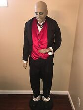 Life Size Gemmy Halloween / Animated Butler / Jeeves / Rare HTF
