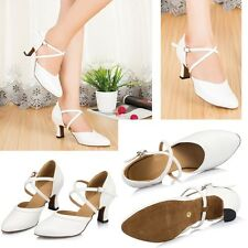 NEW Women's Ballroom Latin Salsa Dance Shoes Ladies Sandals Heeled Indoor Shoes