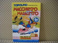 Topolino presenta Macch.. -Nel regno di Topolino-  Albo n. 74 - 25-1-1939 (AB0)