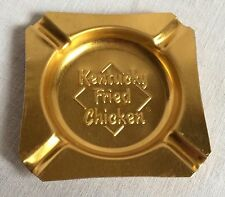 Vintage Kentucky Fried Chicken Metal Ashtray