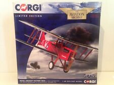 Corgi Aviation AA37707 Royal Aircraft Factory SE5A C1149/W 'Schweinhund' New