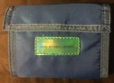 Marc By Marc Jacobs Blue Nylon Wallet