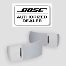 BOSE 161 SPEAKER SYSTEM WITH BRACKETS - WHITE PAIR NEW