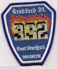 """New York City - Engine-332  """"Bradford Street""""  (3.5"""" x 4"""" size) fire patch"""