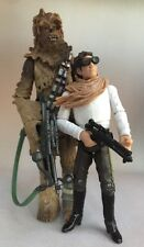 Star Wars Han Solo & Chewbacca Sandstorm (Legacy Collection BD1 & 3) Figures