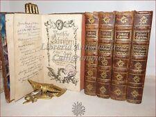 Friedrich Wilhelm Zacharia, POETISCHE SCHRIFTEN 1765 Opere Poetiche 9 voll in 5