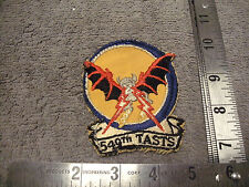US Airforce VN Era 549th TASTS Full Color Cloth Patch