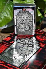 Zippo Lighter - 65th Anniversary Limited Edition Collectible - Pewter Emblem C97