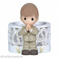 Precious Moments Blessings on Your First Holy Comunion Boy LED light #123426 NIB