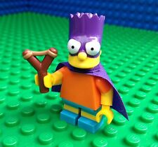 Lego 71009 The Simpsons Series 2 BARTMAN Bart Sling Shot Cape Minifig Minifigure