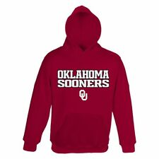 ($40) Oklahoma Sooners Jersey HOODIE/HOODY Sweatshirt YOUTH KIDS BOYS (xl)