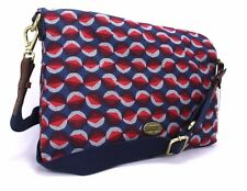 Fossil NEW Explorer Fabric Tote Bag MSRP $198 (Red Multi)