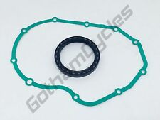 Ducati Engine Motor Clutch Case Housing Inner Rubber Oil Seal & Outer Gasket