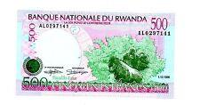 Rwanda ... P-26 ... 500 Francs ... (1998) ... *UNC*