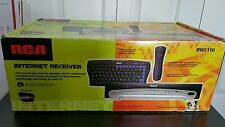 RCA internet reciever kit with Web TV RW2110
