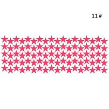 Charm 10/20/90pcs Star Wall Sticker For Kids Room Decor Removable Waterproo