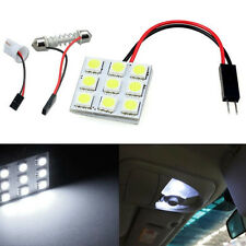 12V 9 SMD 5050 LED T10 BA9S Dome Festoon Car Interior Light Panel Lamp Wholesale