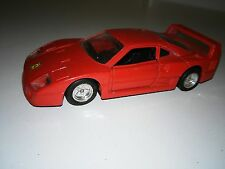 FERRARI F40 ESCALA 1:39 MADE IN CHINA Nº56