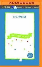 The Purpose Driven Life Devotional for Kids by Rick Warren (2015, MP3 CD,...