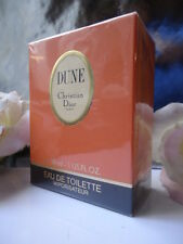 CHRISTIAN DIOR DUNE EDT 30ml RARE VINTAGE 1997 MINT SEALED BOX & DIOR GIFT WRAP