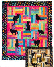 Lap Kitties Kitty Cat Applique Fun Fast Prairie Pieces Quilt Pattern