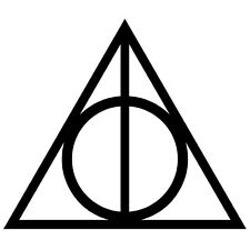 Harry Potter's Deathly Hallows Decal for Car/Boat/Truck/Trailer/Laptop
