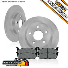 Rear Brake Rotors Metallic Pads LINCOLN NAVIGATOR BLACKWOOD FORD F150 EXPEDITION