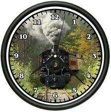 TRAIN Wall Clock track railroad locamotive model rr