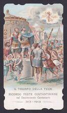 SANTINO 113 COSTANTINO - HOLY CARD IMMAGINETTA RELIGIOSA IMAGE PIEUSE - 1913