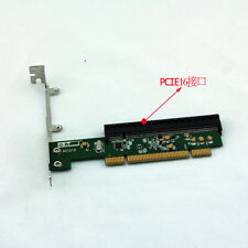 New PCI To PCI-E Adapter Card , PCI 32 bits Convert PCI-E express 16X -