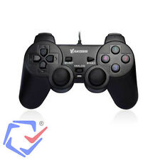 Gamepad Joy Pad Controller für PC Computer mit Vibration Kabel USB Plug & Play