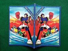 EROI DELLO SPAZIO ROBOT Quaderno scuola vintage A5 quadretti (80s) copybook