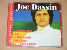 CD / JOE DASSIN / VOL 3 DE L'INTEGRALE / LES CHAMPS ELYSEES / TRES BON ETAT